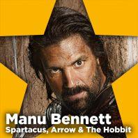Manu Bennett kommer til Comic Con